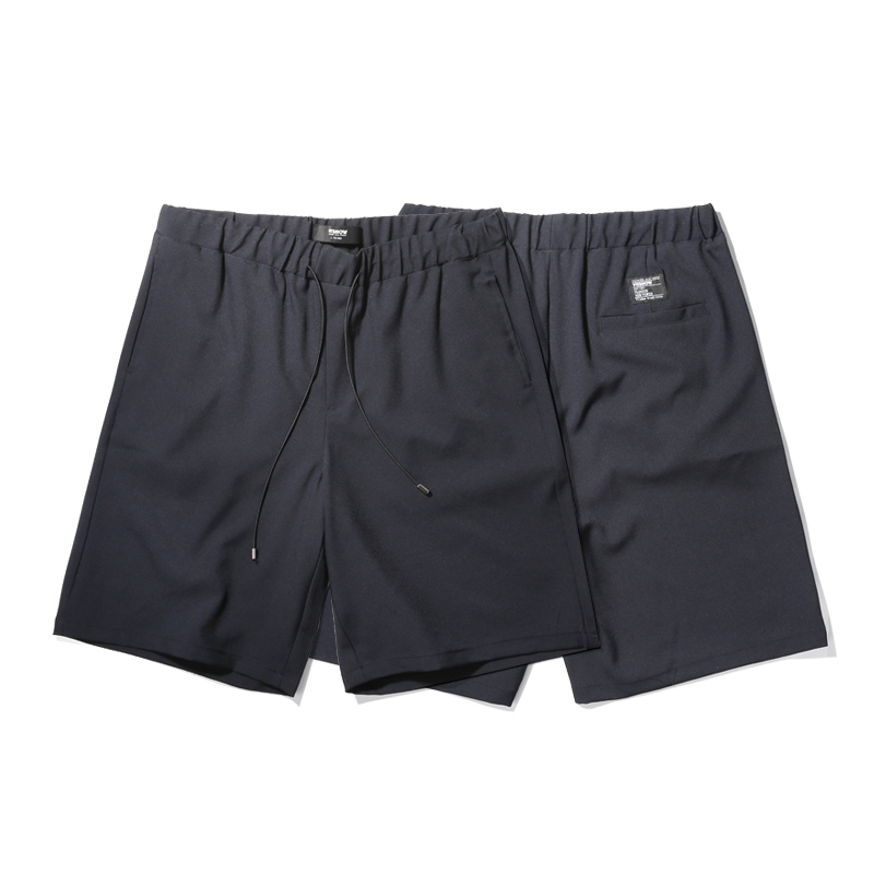 VIISHOW Mens Shorts Summer Fashion Brand Clothing Casual Shorts Men Solid Short Pants Mens Elastic Dreawstring Shorts Men