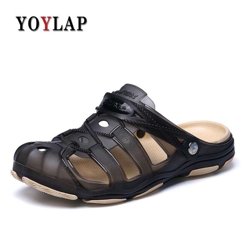 Beach Mens Flip Flops Sandals Men Summer Shoes Male Casual Shoes Men Slippers Flats Jelly Shoes