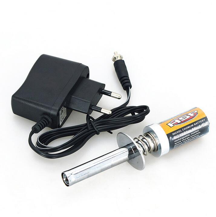 HSP 80101 1800mAh Rechargeable bougie de préchauffage allumeur chargeur de puissance pour voitures Nitro RC