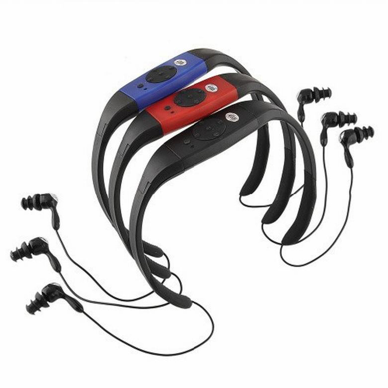 Lossless Sport MP3 High Quality Flac Ape 8GB Super IPX8 Waterproof Mp3 Player Headphones Surf Scuba Diving For Swimming Earphone