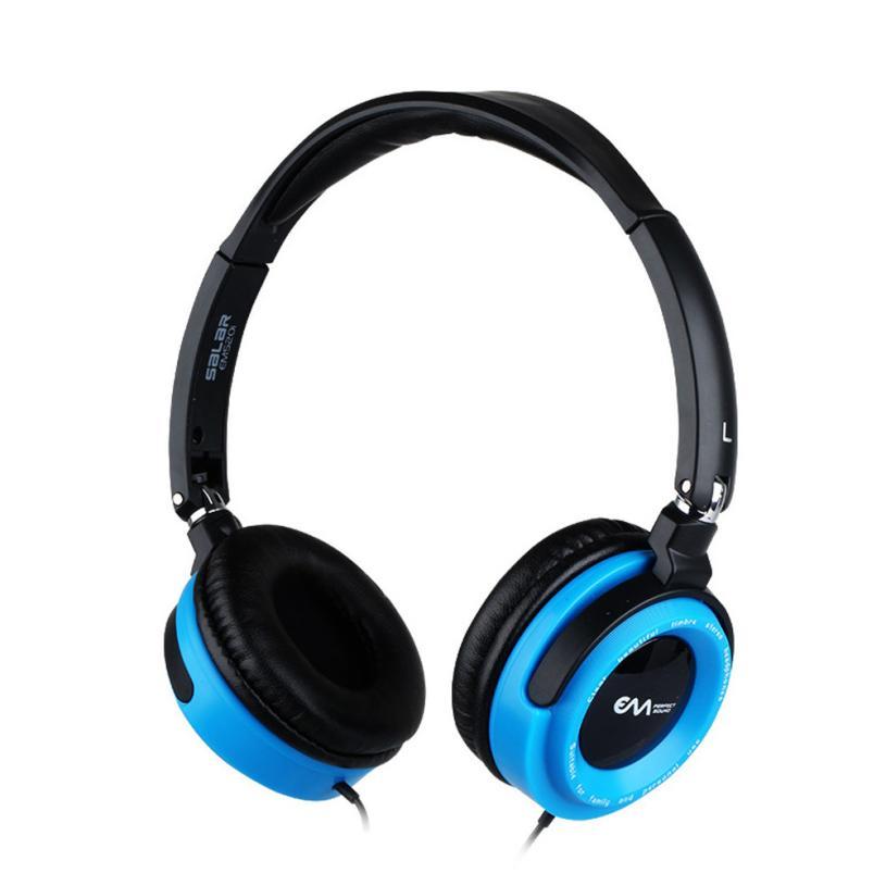 Portable Fashion Bass Stereo Headphones Fashion Music Lovers Headband Headphone For iPhone MAC PC MP3 Nov27