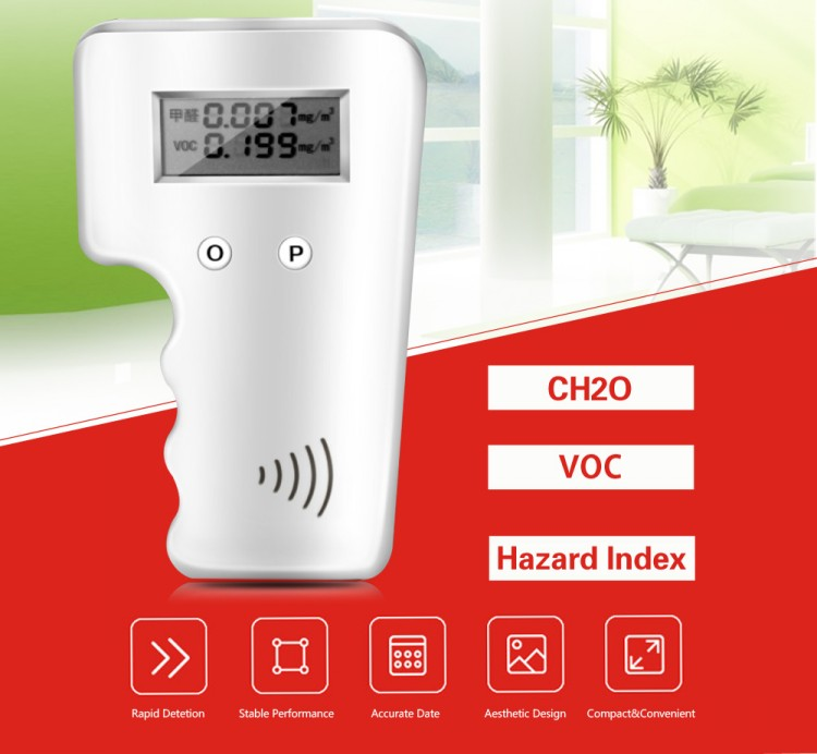 Free Shipping Accurate Portable Homeuse Manufacturer Price Formaldehyde Detector in Gas Analyzers from Tools