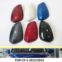 Rearview Mirror Shell Housing Mirror Cover Side Mirror Shell For Mazda CX 5 CX5 2013 2014 Car Accessories