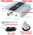 13db yagi + LCD display! mobile phone mini GSM 900mhz signal repeater / repetidor,cell phone GSM signal booster amplifier