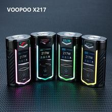 Nowy oryginalny VOOPOO X217 box Mod 217W Vape Mod US GENE Chip zasilany przez 18650 20700 21700 bateria e-cig Vape Mod VS Drag 2 Mod tanie tanio Elektryczne Mod Metal Brak 93 6 x 50 6 x 33mm 5W-217W Power Voltage Temperature Custom Mode 2 x 21700 20700 18650 batteries (not included)