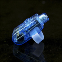 1 Set Included 100 Pcs Blue LED Light Up Flashing Finger Rings Glow Party Favors Kids