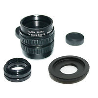 35mm F/1.7 C mount CCTV lens for Fujifilm Fuji FinePix X Pro1 X Pro Camera macro lens