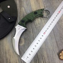 High Quality.D2Blade G10Handle Fixed Blade Knives. Survival Knife. Hunting Knife. Utility EDC Tools. Camping Tools/Knife.EDC