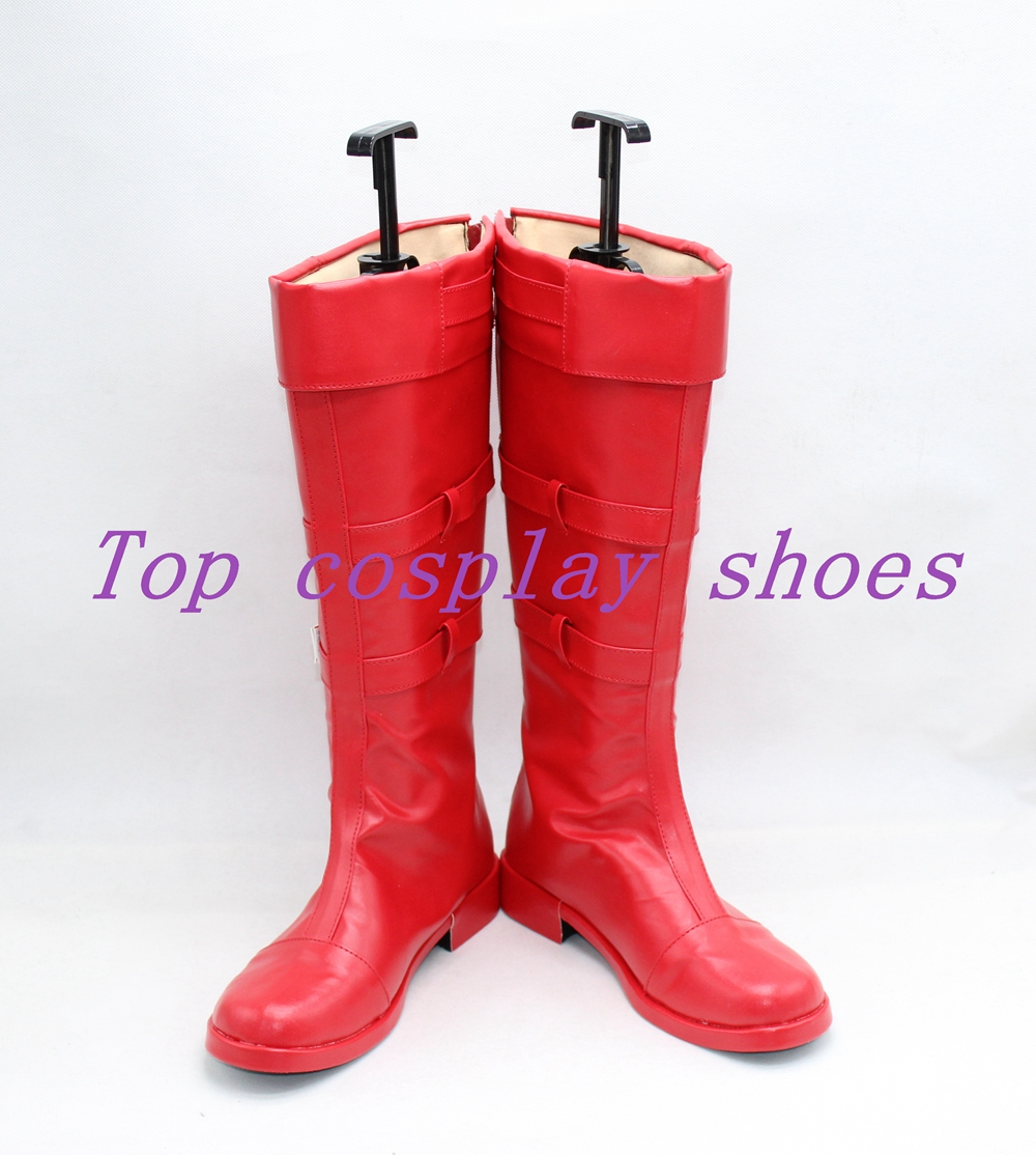TALES OF SYMPHONIA LLOYD IRVING Cosplay Boots Shoes