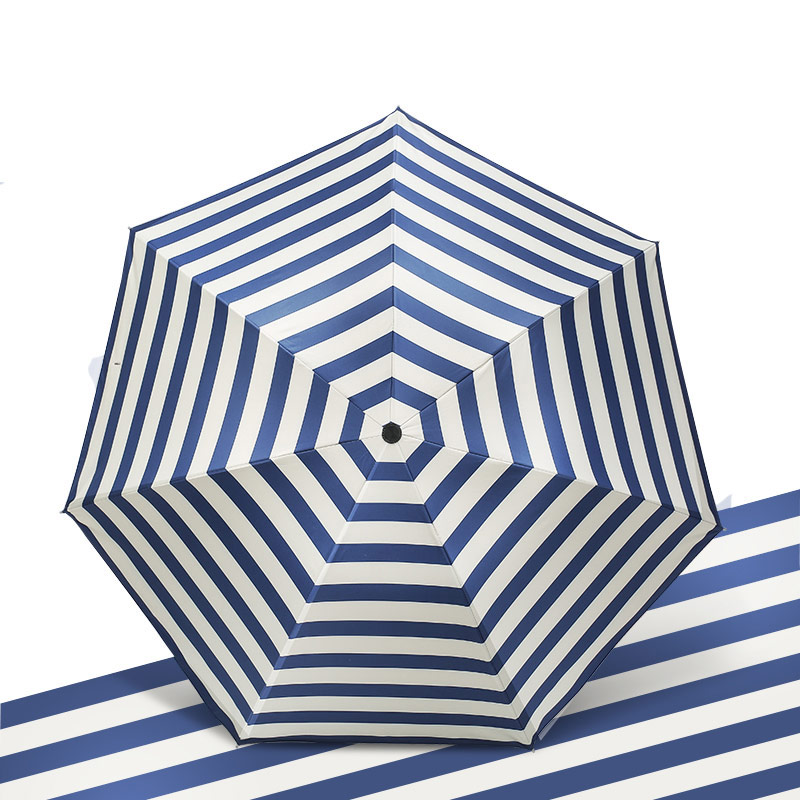 High Quality Three-Folding Umbrella Wind Resitant And Uv Protection Women Fashion Umbrellas Novelty Items Compact Umbrella