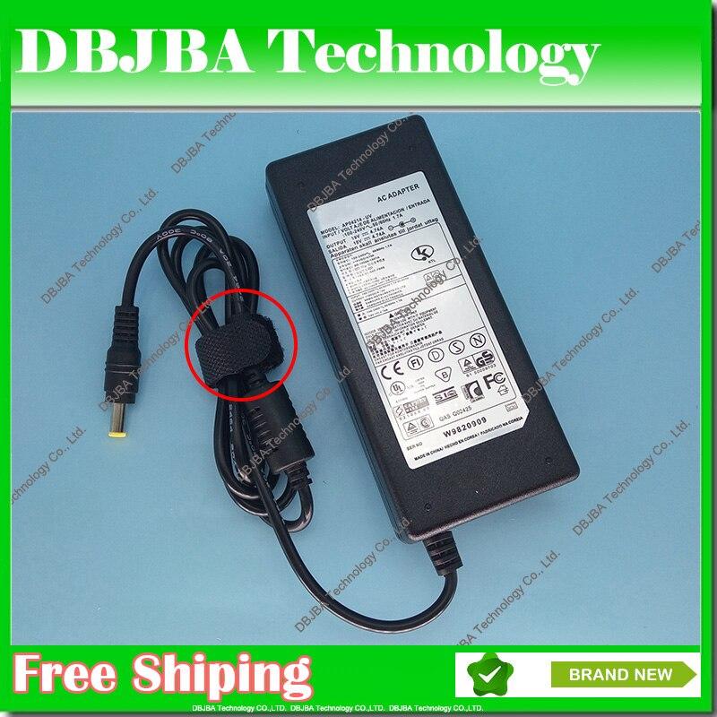 19 V 4.74A 90 W AC Adaptateur Alimentation Pour samsung ordinateur portable chargeur AD-9019 A10 R453 R518 R410 R429 R439 P10 P20 chargeur