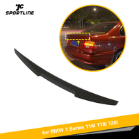 Carbon Fiber Rear Trunk Spoiler for BMW 5 Series E39 M5 1996 2003 Rear Wing Spoiler Boot Lid M4 Style