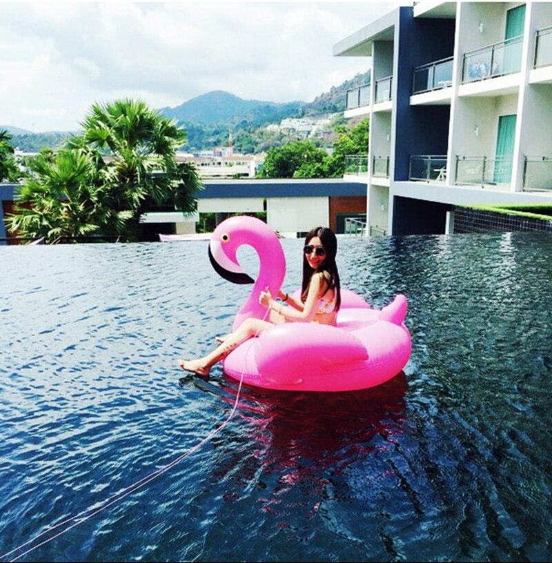 Flamingo swimming ring (6)