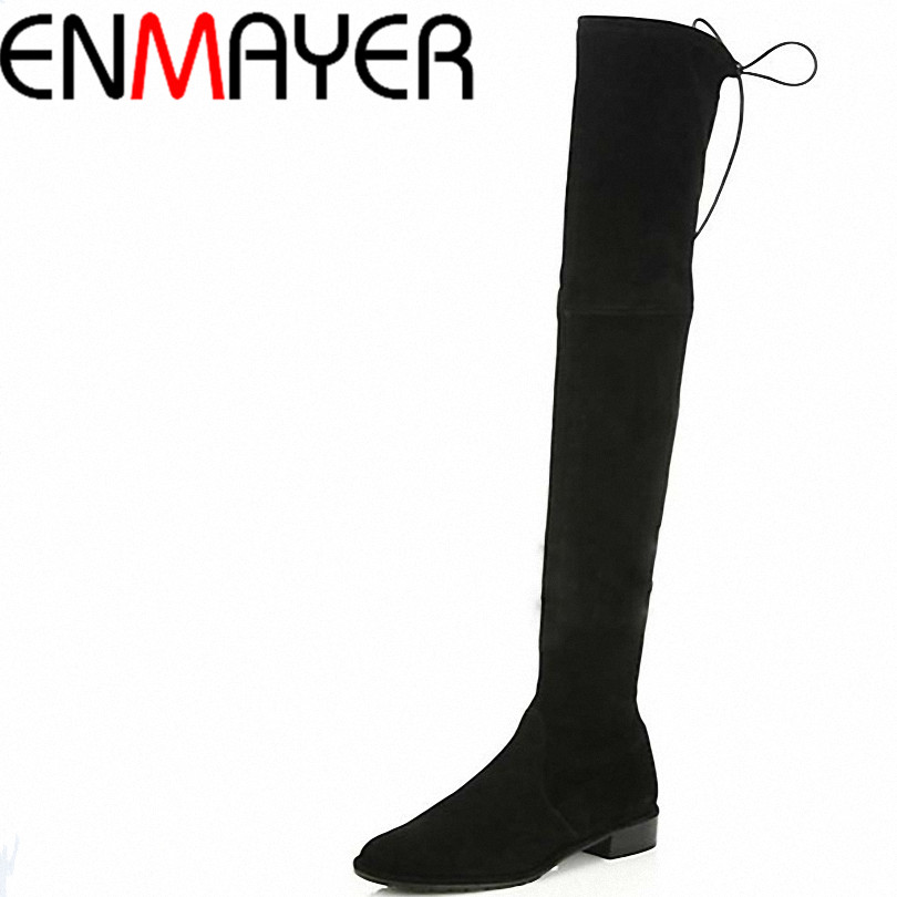 Online Buy Wholesale long black boots low heel from China long ...