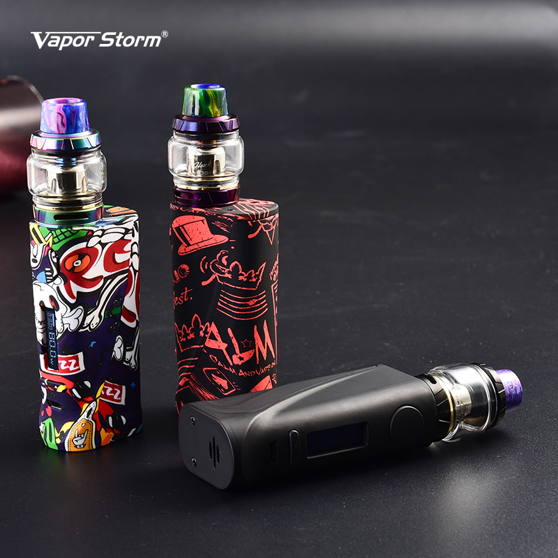 Vapor Storm ECO PRO Hawk Kit 80W ECO Pro Box Mod with 2ml Hawk Tank Rock GE