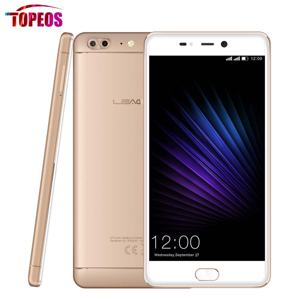 5.5''Leagoo T5 MTK6750T Octa-core Smartphone Android 7.0 4GB RAM 64GB ROM Dual Back camera 13MP FHD Fingerprint Phone 4G LTE
