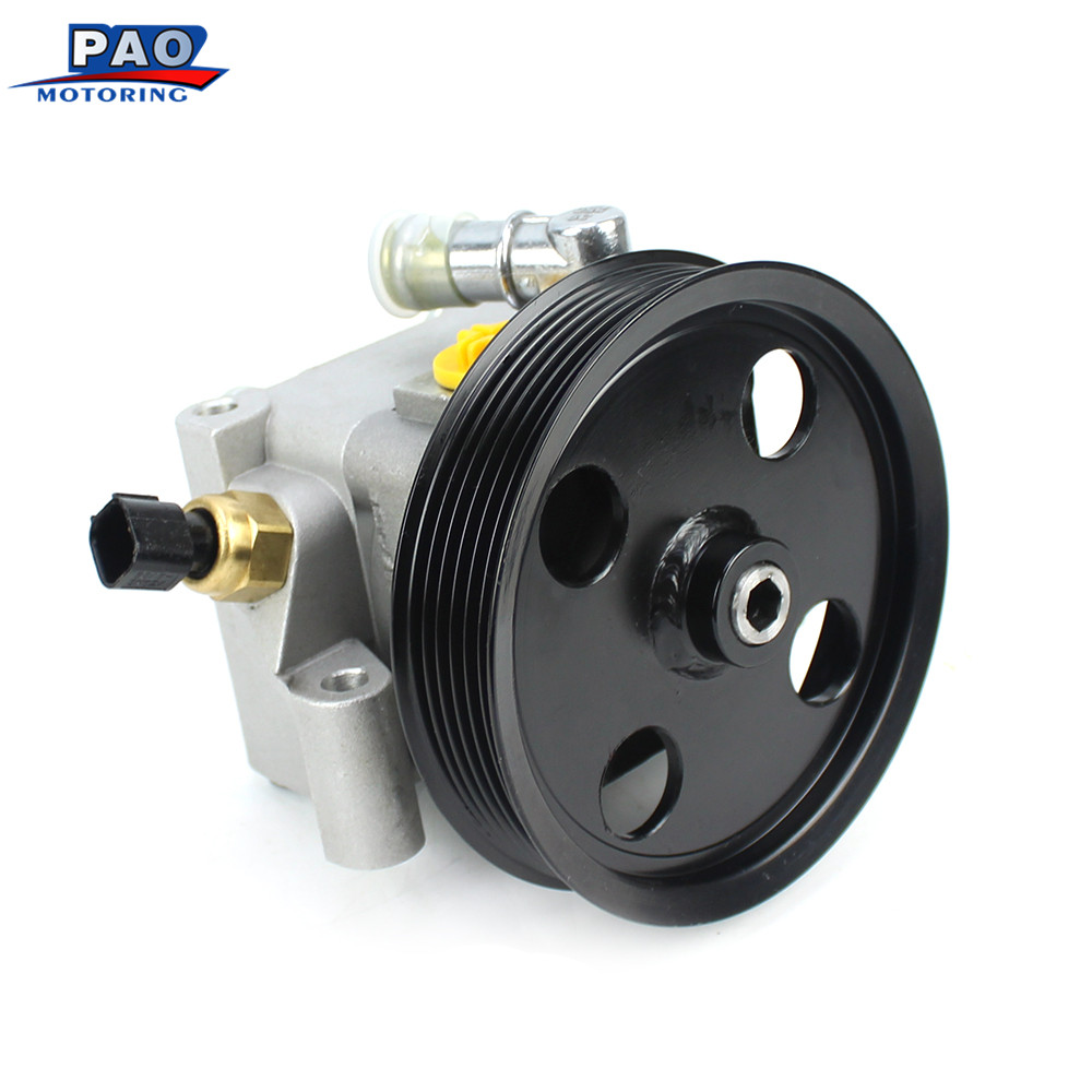 New Fit For FORD C-Max Focus VOLVO V50 New Power Steering Pump OEM 4M513A696AC,1329297,1362652,1470514,4M513A696AD цена