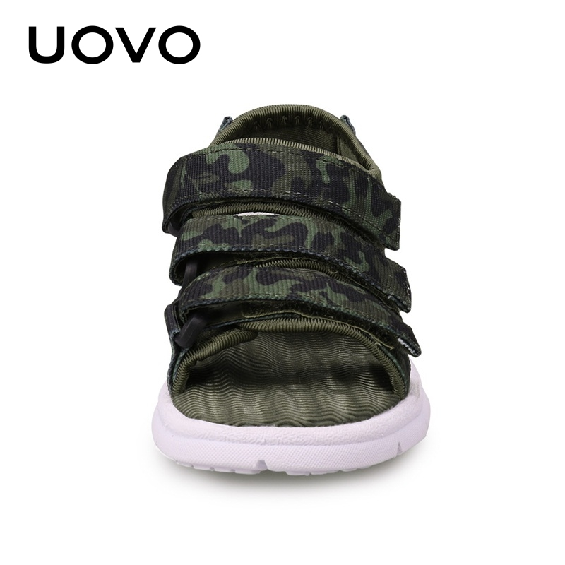 Image 5 - UOVO 2020 Summer Kids Sandals Boys And Girls Slides Children Summer Beach Sandals New Arrive Little Kids Shoes Eur Size #25 37Sandals   -