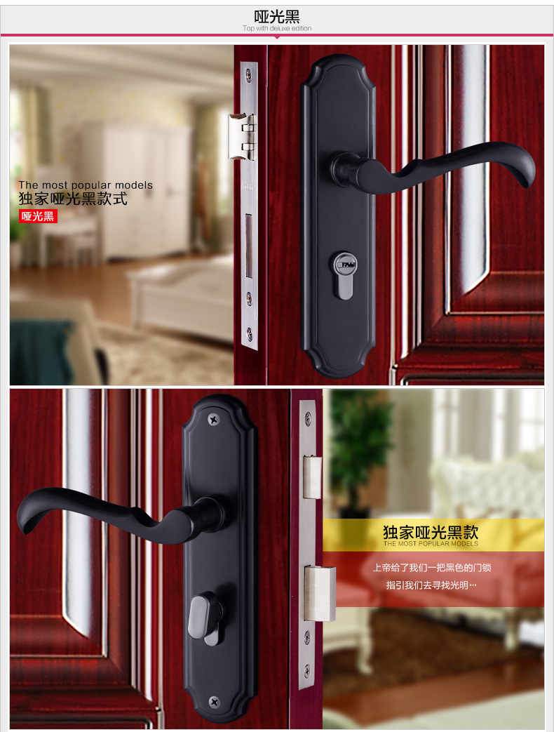 matte black color solid T handle lock indoor mute bearing strong wooden door gate versatile lock copper core & key t handle vending machine pop up tubular cylinder lock w 3 keys vendo vending machine lock serving coffee drink and so on