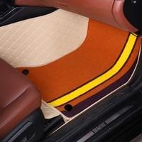 Автомобильные коврики для Toyota Camry XV40/50 6th 7th поколения 5D любую погоду автомобиль Стайлинг коврики с облицовочными вставками (2006 теперь)