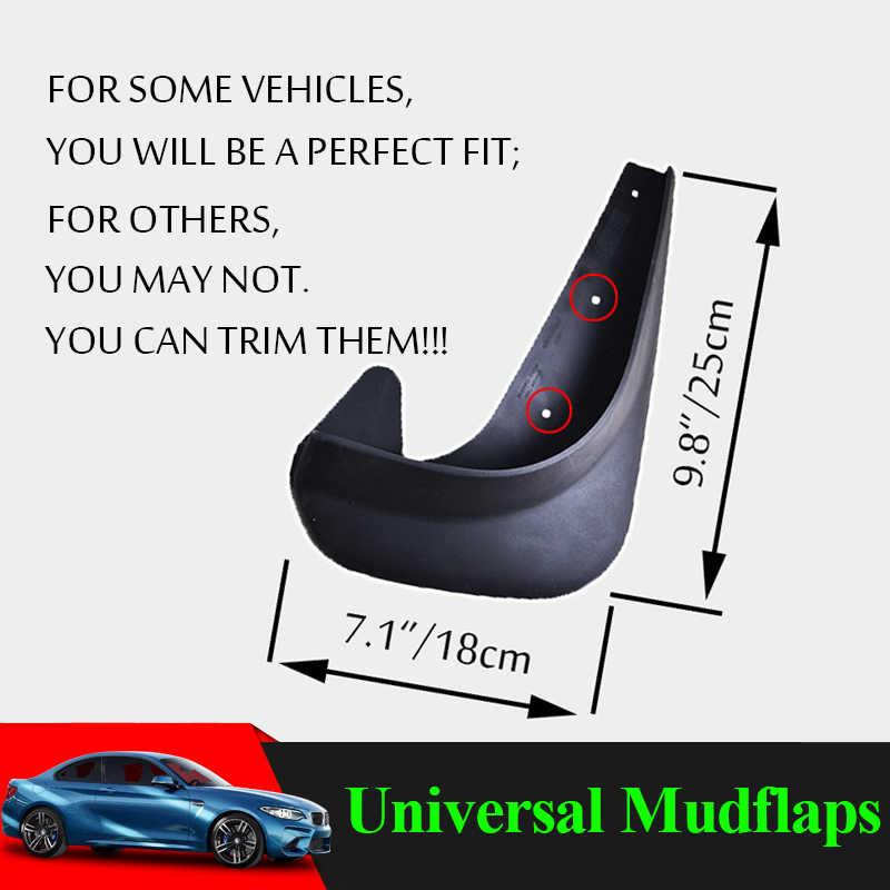 Universal Car Mud Flaps Fender Auto Van SUV Truk Mudflaps Splash Pengaman Flap Spatbor Mobil Styling