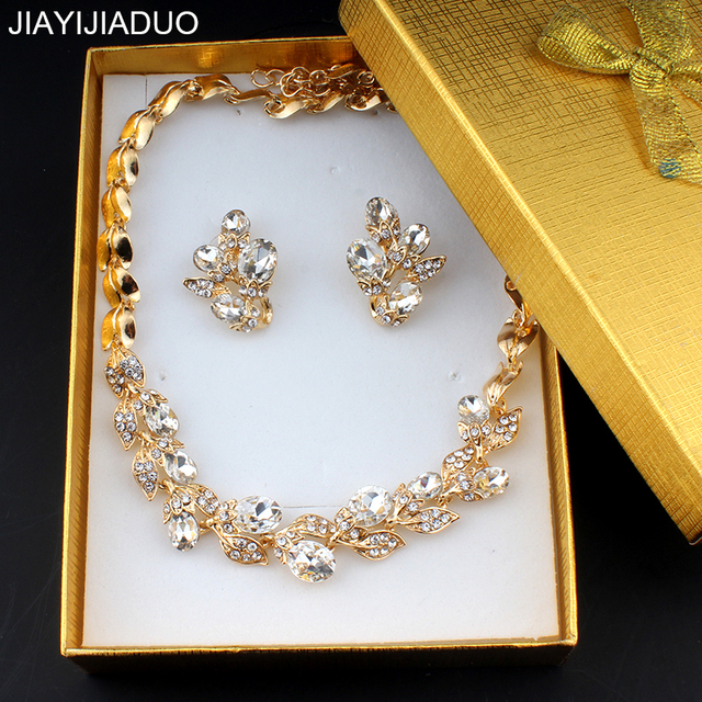 jiayijiaduo Elegant wedding jewelry set for women bridal jewelry
