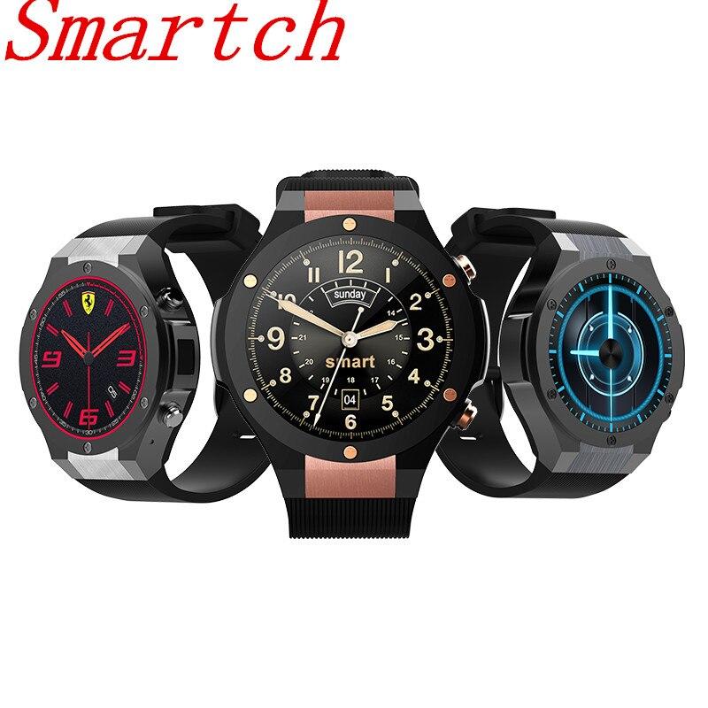 Smartch New H2 Smart Watch With GPS Wifi 3G Camera Smartwatch MTK6580 IP67 Waterproof 400*400 Heart Rate Monitor 16GB/1GB Androi new h1 smart watch mtk6572 ip68 waterproof 1 39inch 400 400 gps wifi 3g heart rate monitor 4gb 512mb for android ios camera 500w