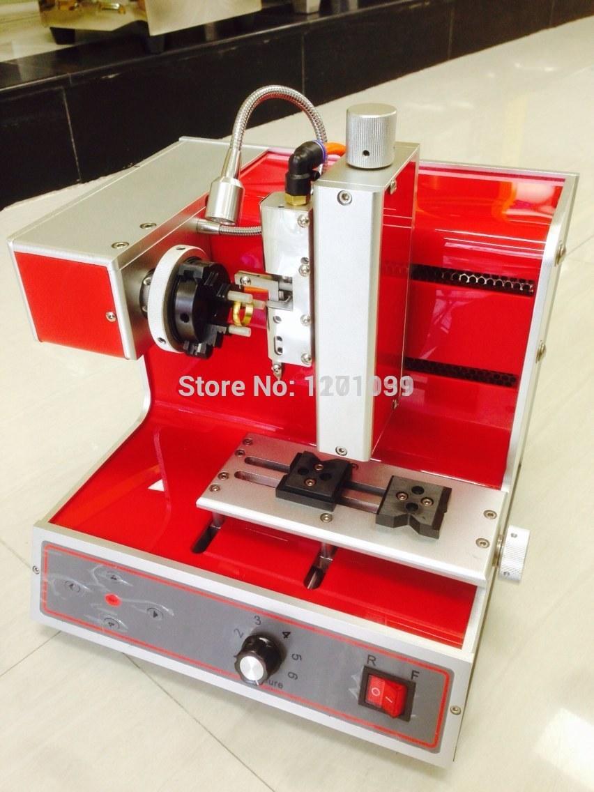 Outil de gravure numérique d'opération flexible, machine de taille d'anneau, machine de gravure de bracelets CNC, machine de gravure plate