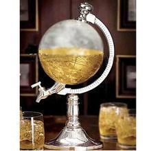 1.5L Mini Globe Weinausgießer Rack Dispenser Barware Bier Alkohol Gießmaschinen