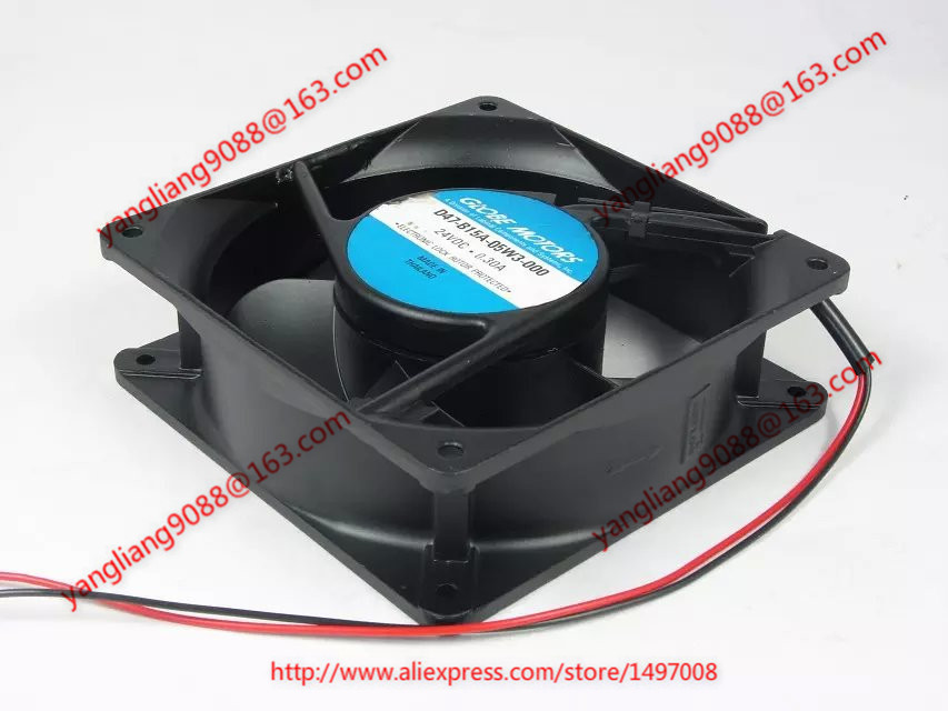 Free Shipping For NMB D47-B15A-05W3-000 DC 24V 0.30A 2-wire 120mm 120x120x38mm Server Square Cooling fan free shipping 24v dc mig welding wire feeder motor single drive 1pcs