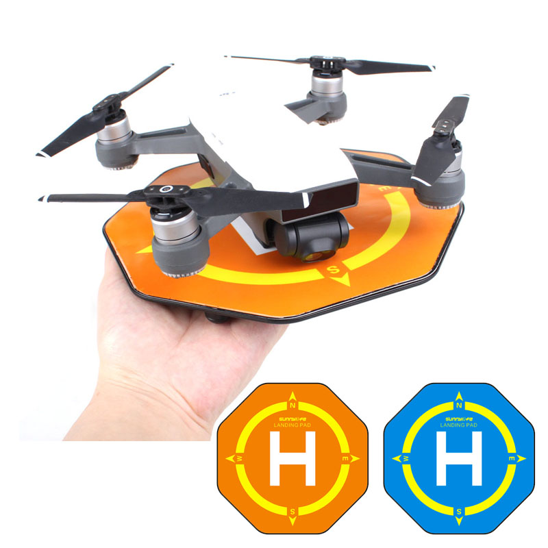 Accessories For RC Drone launch pad Quadcopter Helicopter Mini landing pad helipad for DJI Spark Drone  drone helipad