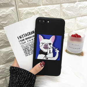 Phone Case For iphone X Cases Funny Cartoon Illustration Soft Cover 15dc14eedca5