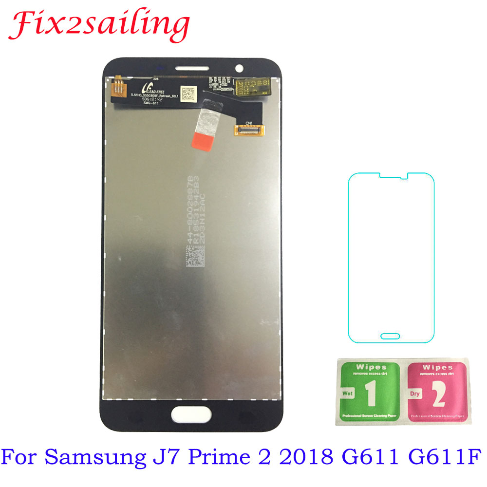 LCD For Samsung Galaxy J7 Prime 2 2018 G611 G611F LCD Display + Touch Screen Digitizer Assembly Replacement Parts LCD For Samsung Galaxy J7 Prime 2 2018 G611 G611F LCD Display + Touch Screen Digitizer Assembly Replacement Parts