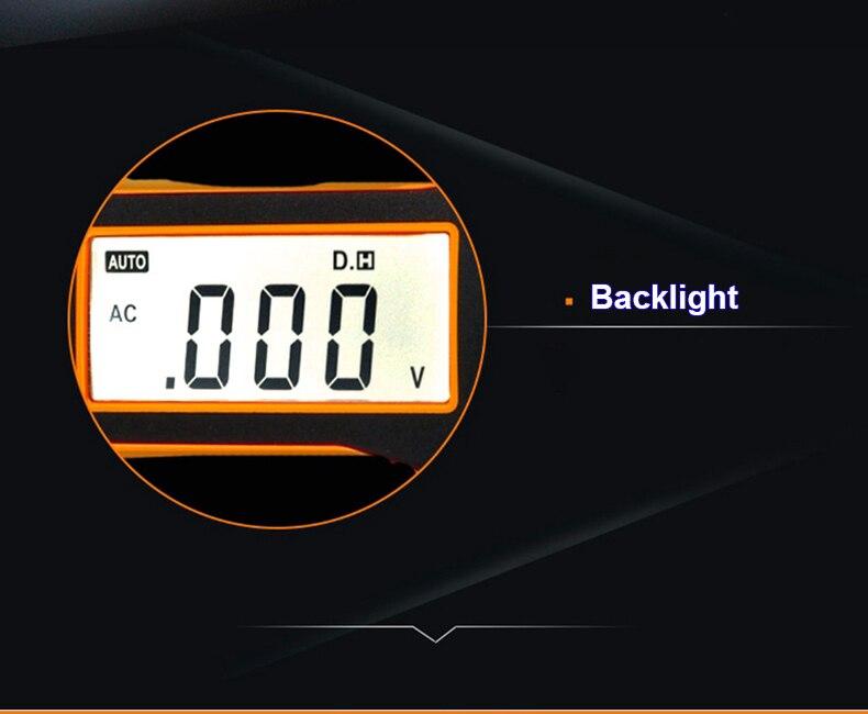 Peakmeter ms8211 multímetro digital 2000 contagens caneta
