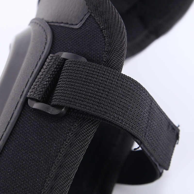 Motorrad lange knie Pad Ellenbogen Protector motorrad racing dicken edelstahl schutz getriebe Schutz rüstung