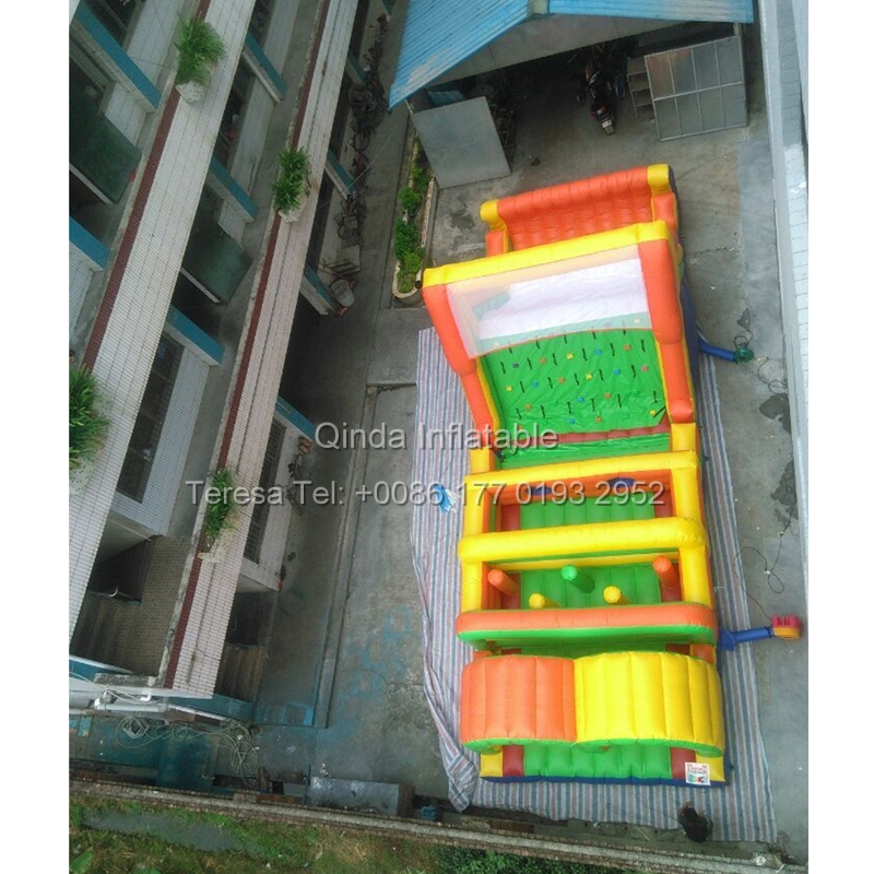 10m Long Jumping Castle Inflatable Obstacle Course Jumper Bounce House Slide Trampoline Game For Kids and Adult 6 4 4m bounce house combo pool and slide used commercial bounce houses for sale