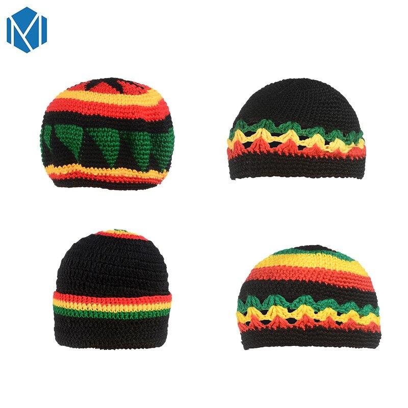 MISM-Hip-Hop-Cap-Men-Rainbow-Striped-Knitted-Gorras-Para-Hombre-Jamaica-Bob-Marley-Rasta-Beanie (6)