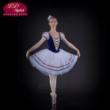 Ballet Dress Candy Fairy Dance Custom French Fashion Design Professional Tutu Beauty Princess LD0014I