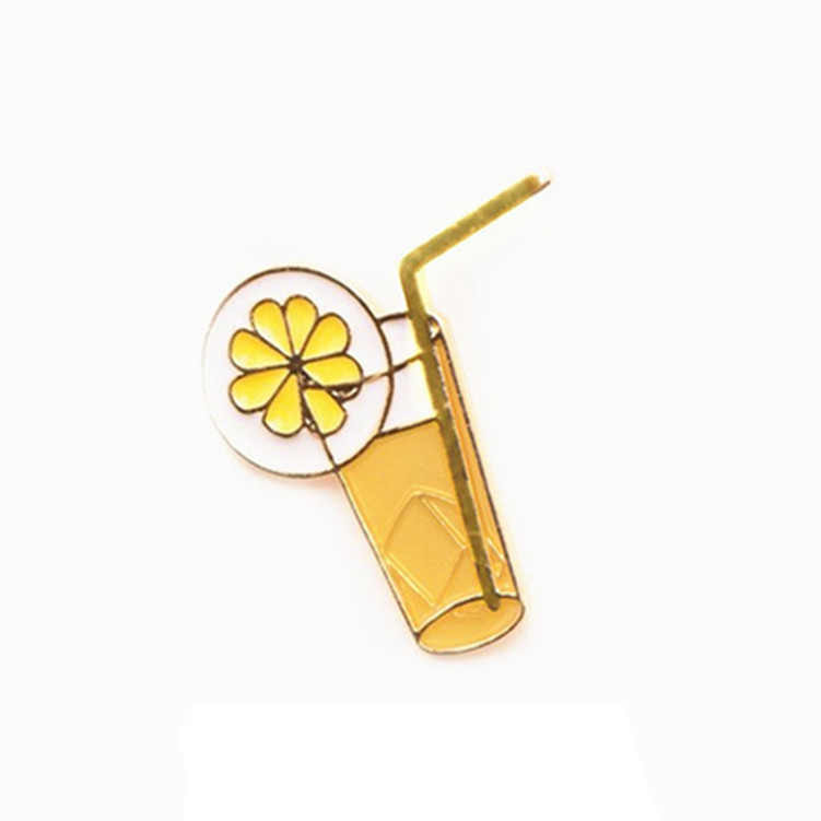 50pcs Metal Coconut Tree Breastpin Summer Tourists Souvenir Glasses brooch Party Favors Promotional Gifts Novelties Wholesale