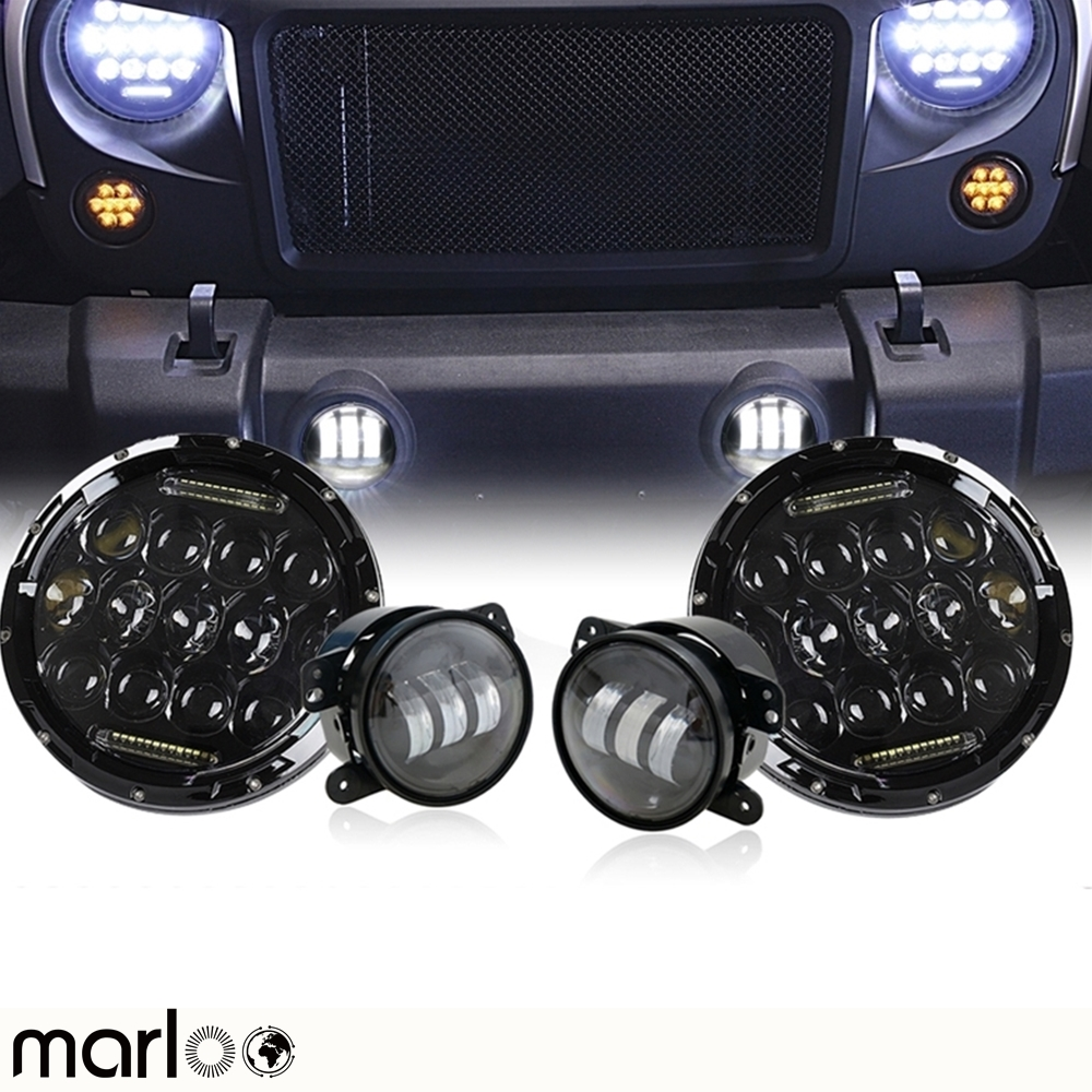 Marloo 7Inch 75W Daymaker LED Headlight 4
