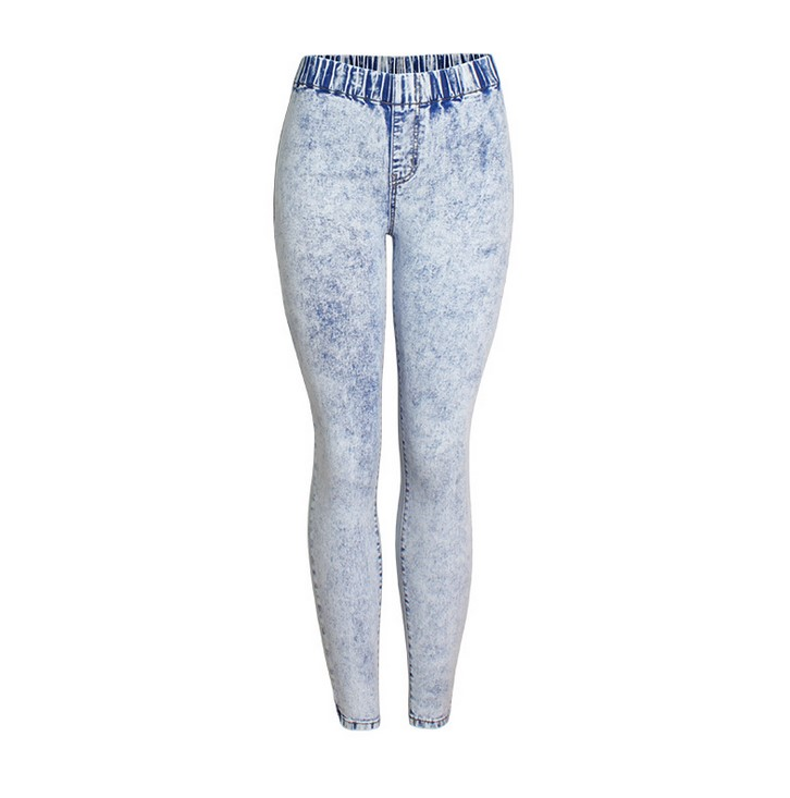 856956f3a83e Detail Feedback Questions about catonATOZ 2129 Women s Ultra Stretchy Acid washed  Jeans Woman Elastic Waist Pencil Skinny Denim Pants Jeans on ...