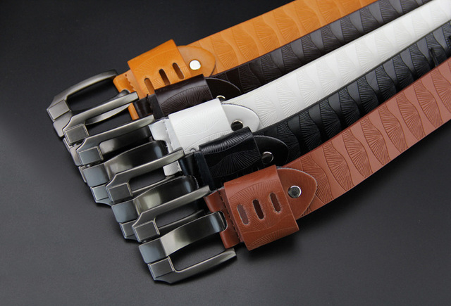 Fashion Embossing Luxury Belts For Men & Women