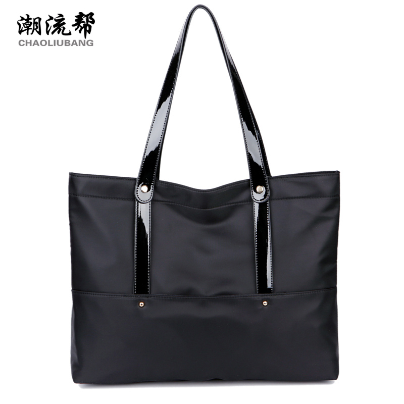 Sky fantasy fashion waterproof nylon solid casual classic women shoulder bag vogue hipster lady handbag high quality tote 2015 new fashion women handbag high quality zipper solid waterproof nylon bag casual shoulder bag multicolor contrast color