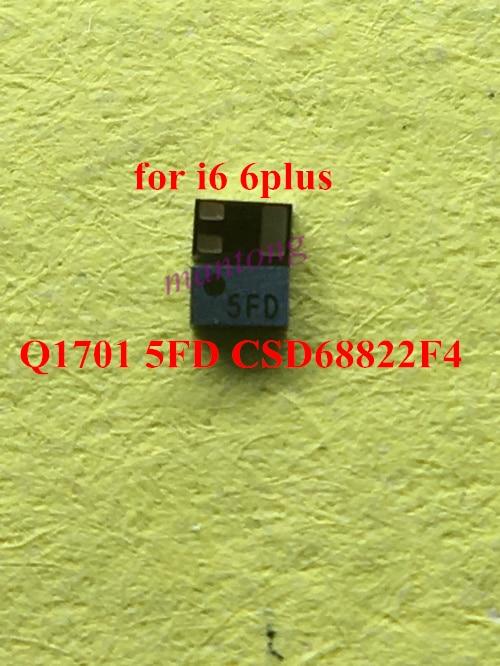 10pcs 20pcs for iphone 6 6 plus 6+ Q1701 5FD 4FD ic chip logic board fix part CSD68822F4