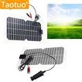 5.5 W 18 V Painel Solar Semi-Flexível Placa de Silício Monocristalino Solar Generater Energia Solar Célula Solar Engergy Poder para a Bateria