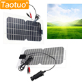 5.5 W 18 V Panel Solar Semi-Flexible de Silicio Monocristalino Solar Power Board Generater Solar Célula Solar Engergy Poder para La Batería
