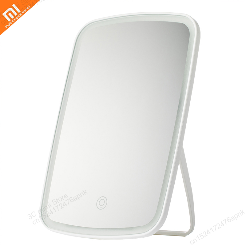 xiaomi  Mijia Makeup mirror led light portable folding light mirror dormitory home desktop portable mirror Smart productxiaomi  Mijia Makeup mirror led light portable folding light mirror dormitory home desktop portable mirror Smart product