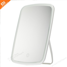 xiaomi Mijia Makeup mirror led light portable folding light mirror dormitory hom