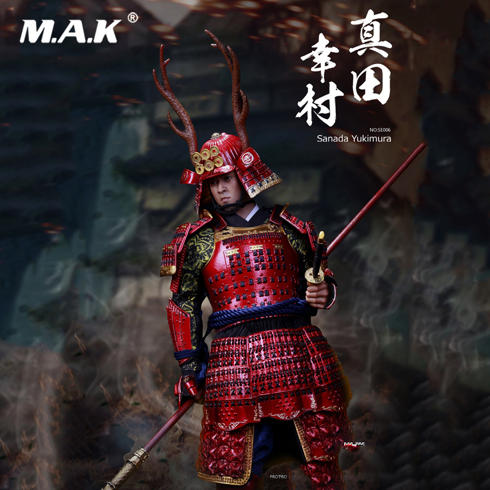 1/6 Collectible Full Set Action Figure Japan's Warring States Sanda Yukimura Deluxe /Normal Ver. Figure Model Toys for Fans Gift for collection 1 6 full set series of empires japan s date masamune deluxe figure model se009 warring states model for fans gift