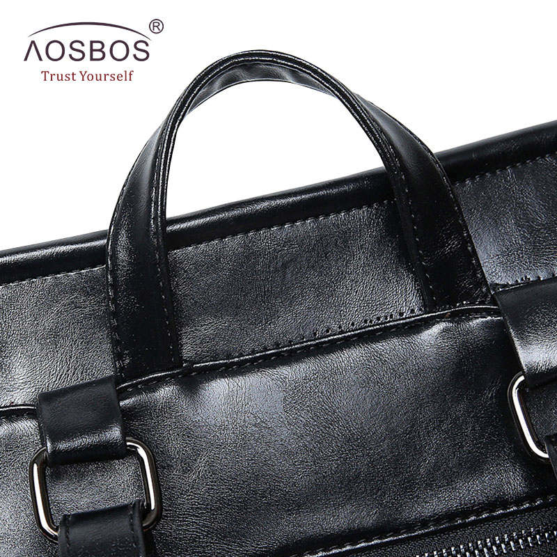 Aosbos Fashion Women Backpack High Quality Youth Pu Leather School Shoulder Bag For Teenage Girls Female Vintage Lady Style #4